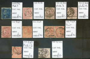 Great Britain Queen Vicotrian stamps used in Malta 10 stamps (2021/10/19#05)