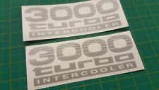 TOYOTA PRADO LAND CRUISER 90/120 Série 3000 Turbo Remplacement decals stickers