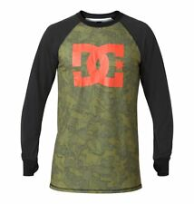 New Mens DC Performance Layer Dingy Base Layer L/S T-Shirt Large Overlay Camo