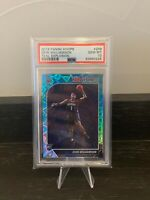 2019-20 Panini Hoops #258 Zion Williamson Teal Explosion PSA 10 Rookie Pelicans