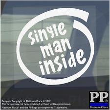 1 X SINGOLO Uomo dentro-Finestra, Auto, Furgone, STICKER, SEGNO, veicolo, Adesivo, disponibile, Divertente