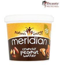 Meridian crujiente de mantequilla de maní 1kg ** 100% Nueces + no aceite de palma **