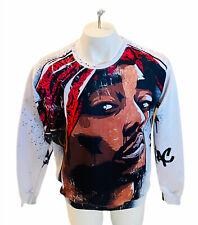 Tupac Shakur Men's Sweatshirt Long Sleeve Sz 3XL ***READ LISTING (Awl)
