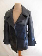 Veste style cuir Comptoir Des Cotonniers Noir Taille 36 à - 67%