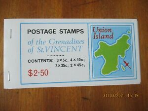 Grenadines Of St Vincent ~ MNH Stamps Booklet ~ Union Island