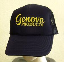 GENOVA PRODUCTS trucker cap Michigan vinyl plumbing CPVC snapback cap 1970s