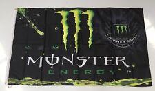 Monster Energy Style 1 Banner Flag - Racing Motorbike Motor Cycle Bike Dirt Road