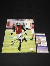 Artie Burns Miami Hurricanes Signed 8X10 Photo Jsa Coa Sd17718 Steelers 1St Rd!