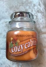 yankee candle Cozy Cabin Swirl ( Autumn Leaves & Mountain Lodge )VHTF Rare