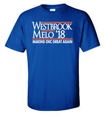 SALE4 TSHIRT Russel Westbrook Carmelo Anthony ADULT XL