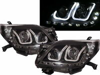 Land Cruiser Prado FJ150 2009-2013 PROJECTOR Headlight LED BlacK for TOYOTA LHD