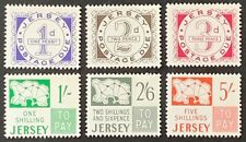 Jersey. Postage Due. Full Set. Unmounted SG D1/6. 1969. MNH CV £32. (Y161)