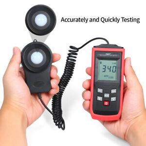 Digital Light Meter Illuminance Photometer LCD Lux meter Tester 0.1 to 100000Lux