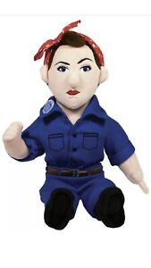 Rosie the Riveter Soft Toy - 11 Inch Plush Little Thinkers Doll