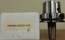New HSK80A Shrink Fit Holder 5/16 ID x 3.15 - H13 Mat'l MFG by TM Smith Tool