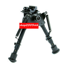 """Hunting 6"""" to 9"""" Free Level Adjustable Bipod Spring Return Legs Rest for Rifle"""