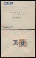 Handstamped George VI (1936-1952) British Air Mails Stamps