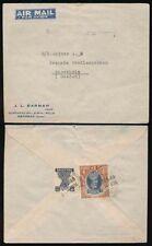 Handstamped British Colonies & Territories Air Mail Stamps
