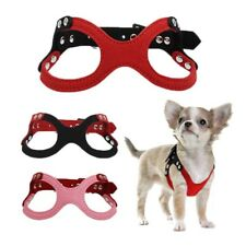 XXXS/XXS/XS Small Dog Harness Soft Vest Pet Cat Adjustable Collar for Chihuahua