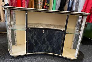 Original Vintage 1950s Mid Century Drinks Cabinet Home Cocktail Cabinet Bar 🍹🍸