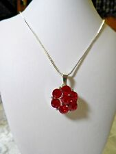 Fits Ginger Snap Valentine Rhinestones Interchangeable Snap Charm Necklace N 681