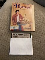 Pirates! Game by Micro Prose for Commodore 64 C-64 - Original Package