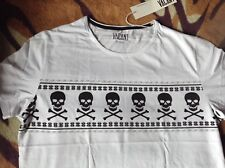 Christmas Jumper Style Skull 'n crossbones T-shirt bianca pirata VACANTE Clothing