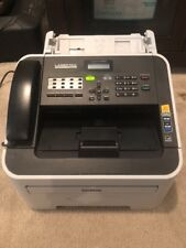 Brother IntelliFAX 2840 High Speed Monochrome Laser Fax Machine - Tested