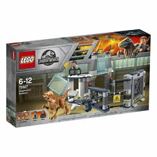 Persecucion helicoptero Jurassic World Lego 75928
