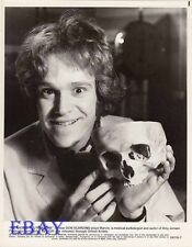 Don Scardino w/skull VINTAGE Photo He Knows You're Alone