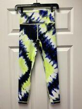 ATHLETA Elation Tie Dye 7/8 Tight NEW - XXS Cobalt Blue $98
