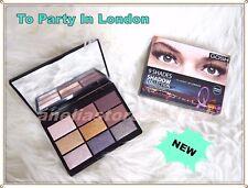 GOSH 9 Shades To Party In London Metallic Eyeshadow Palette Paraben Free