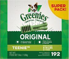 New listing Original Teenie Natural Dental Dog Treats (5-15 Lb Dogs)