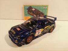 Slot SCX Scalextric Altaya Subaru Impreza WRC 2003 Solberg/Mills Nº7