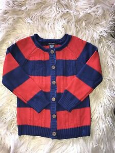 New Girl Nautica Knitted Cardigan Size 5