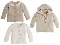 Baby Cardigan Organic 100% Cotton Girl Girls 0 4 6 12  24 Months 50 56 62 74 92