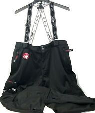 Canada Weather Gear Black Suspender Ski Snowboard Pants Size Mens 1X