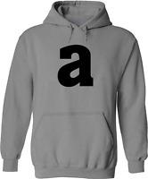 Letter M Alphabet Unisex Mens Women Pullover Hoodie Sweater Sweatshirt S-3X