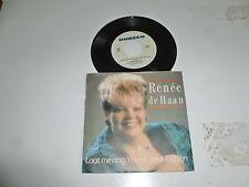 """RENEE DE HAAN - Laat Menog n'keer Gelukkig Zijn - 1988 Dutch 7"""" Juke Box Single"""