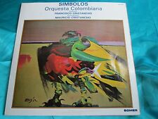 Rare Latin Contemporary Orchestra  Double LP : Simbolos Orquestra Colombiana