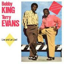 Bobby King & Terry Evans - Live And Let Live! (CD, CD - 3085