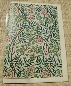 William Morris Sweet Briar cards notelets + envs 5 pack folded A6 blank