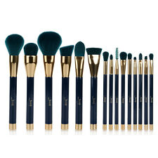 Jessup 15Pcs Makeup Brushes Set Powder Foundation Make Up Cosmetic Brush US Blue