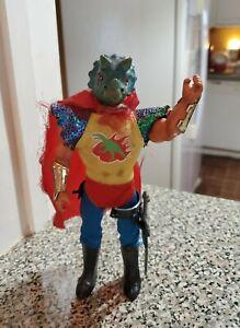 Vintage KO PACO Dino Warriors MOTU Fantasy Figure Weapons Boots Triceratops