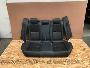 HONDA ACCORD 2018-2019 OEM REAR UPPER AND LOWER SEATS SEAT (BLACK/ LEATHER). 8K