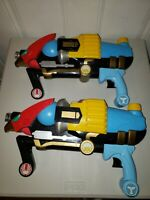 M7 Powers Rangers Ninja Storm Water Gun Storm Striker Bandi 2002 lot of 2
