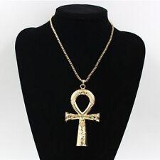LARGE, HUGE, Ankh, Hyroglyph  NECKLACE Egyptian BOLD - USA seller