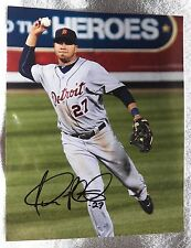 Detroit Tigers Jhonny Peralta Signed 8x10  Photo Auto