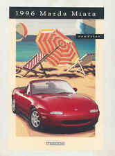 1996 Mazda Miata Large Factory Postcard mx8696