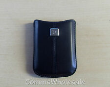 Genuine Original BLACKBERRY CURVE 8900 cuir poche acc-19862-204 - NEUF